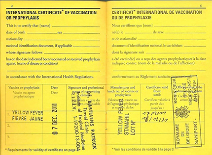yellow-fever-certificate